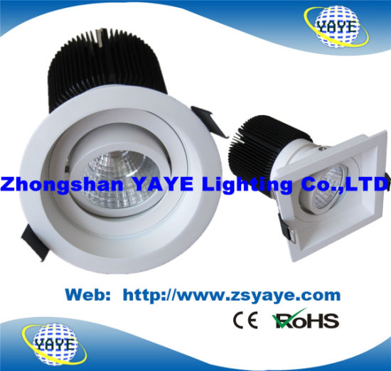 Yaye Hot Sell Square/ Round COB LED Down Light / LED Ceiling Lamp pictures & photos