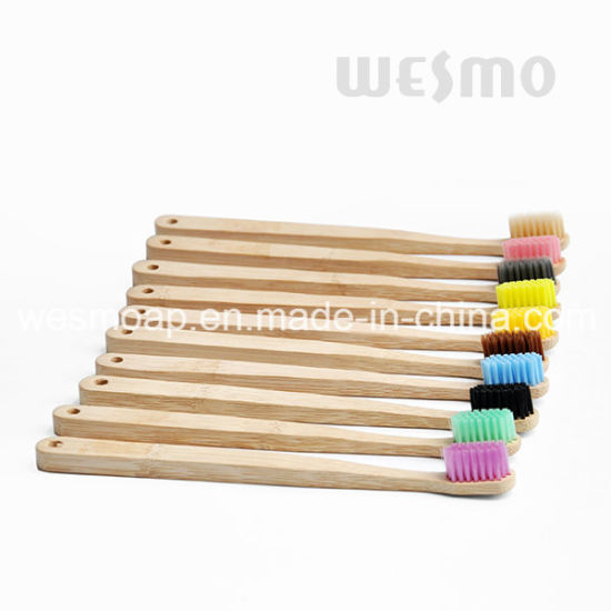 Eco-Friendly Bamboo Toothbrush (WBB0870E) pictures & photos