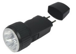 Brightness Emergency Rechargeable Torch Flash LED Light