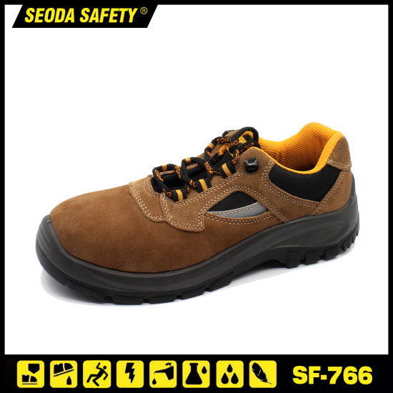 Construction Steel Toe Safety Work Shoes