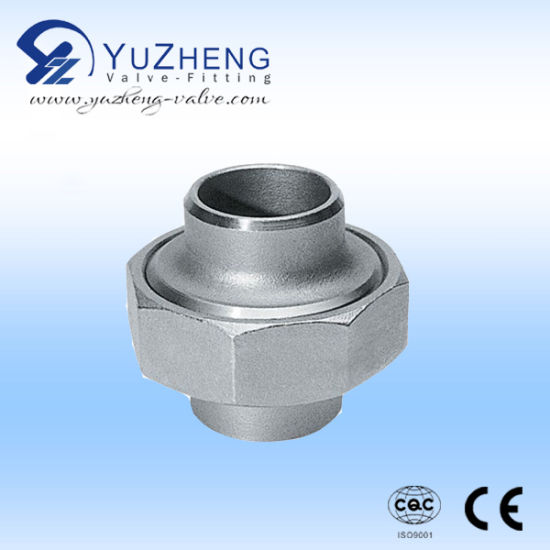 Stainless Steel Half Thread Round Pipe Nipple pictures & photos