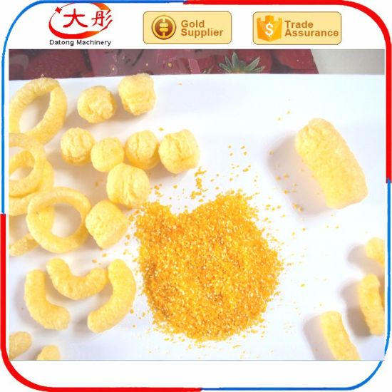 Grain Snacks Puff Corn Snack Core Filling Snack Food Extruder pictures & photos