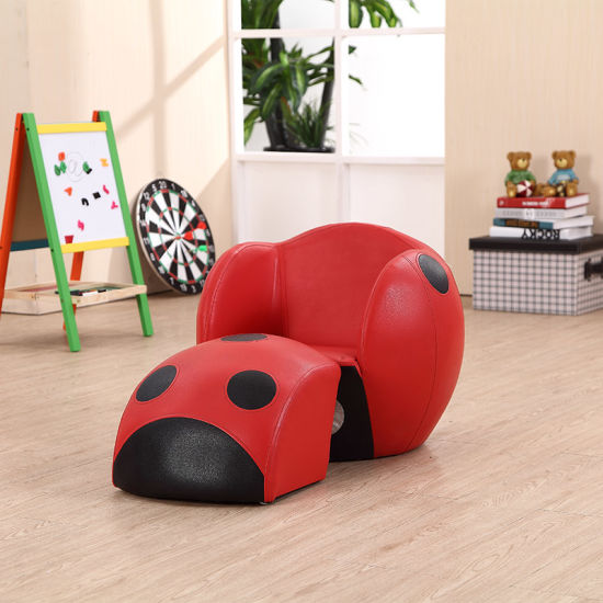 High Quality Comfortable Kids Ladybug Round Shape Sofa/Kids Furniture pictures & photos