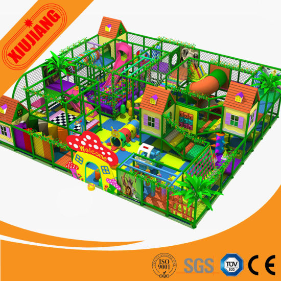 China Jungle Theme Kids Plastic Toddle Play Games Zone Structure