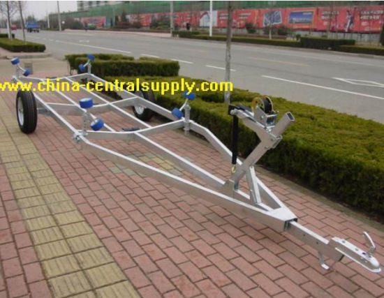 Supplier Hot Sale Galvanized Hydraulic Small 6.2m Ychat/Boat Trailer Bct0930 pictures & photos