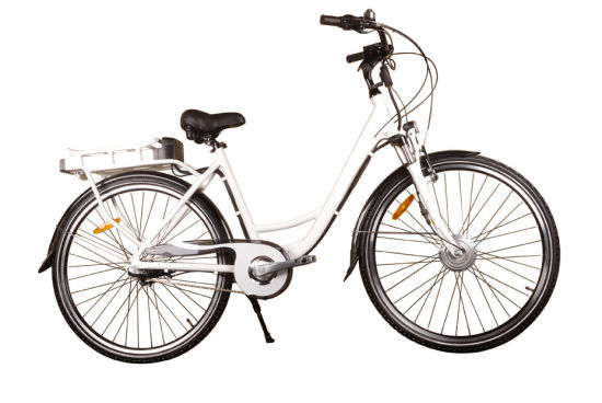Grankee Green Electric Bicycle for Lady 700c 250W-500W pictures & photos