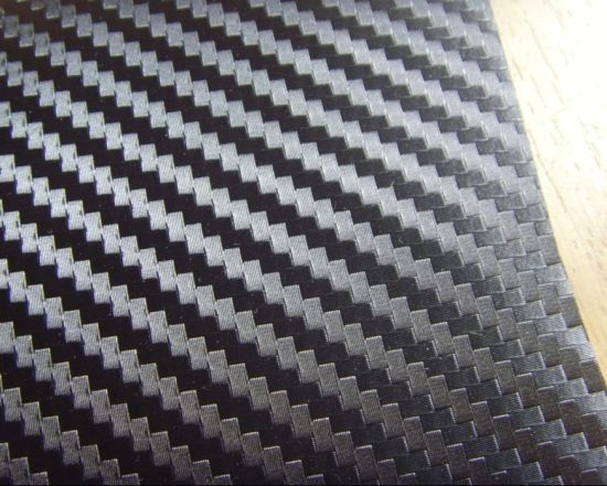 1.52*30m Self Adhesive Vinyl Carbon Fiber Vinyl for Car Wrapping pictures & photos