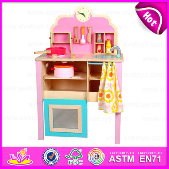 China 2015 New Design Kids Kitchen Set Toy Diy Toy Children Wooden