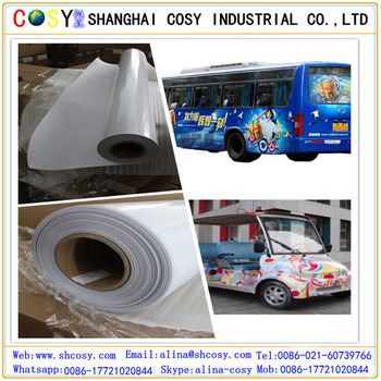 China Manufacturer High Quality PVC Self Adhesive Vinyl Roll for Printing pictures & photos