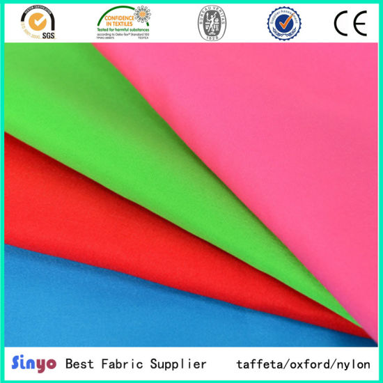 100 Polyester 75d 150d Peach Skin Fabric For Outdoor Cushions