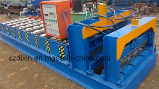 Dx Glazed Tile Roll Forming Machine 1050 Model pictures & photos