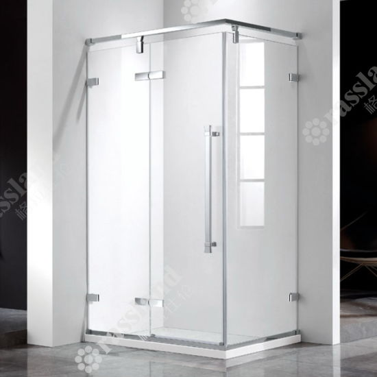 G03f21L Wholesale Customized Competitive Price Tempered Glass Hotel Bathroom Shower Room
