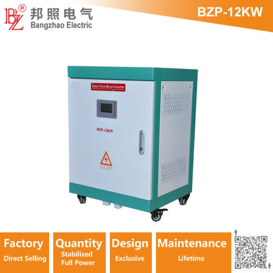 12kw DC to AC Type and Dual Output 120V/240V AC Sine Wave Inverters