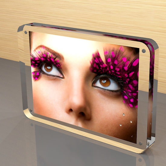 Acrylic Photofunia/Photo Frame, Acrylic Magnetic Picture Frame pictures & photos