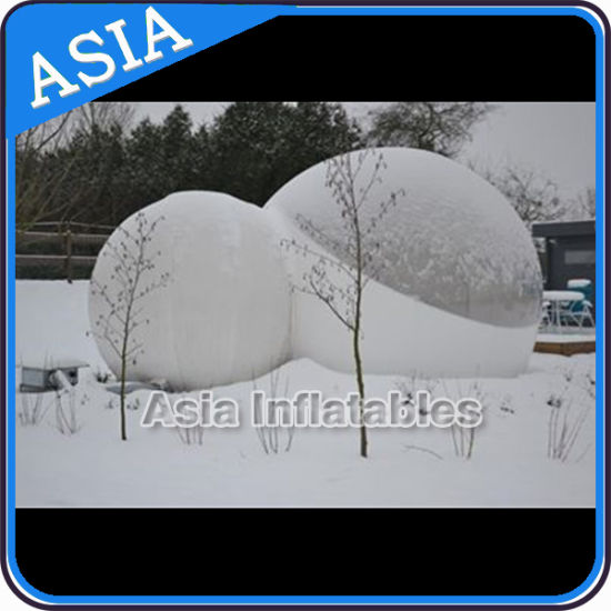 unique inflatable advertising snow globe christmas with free blower