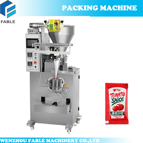 2018 Liquid Sachet Packing Machine for Ketchup (FB-100L) pictures & photos