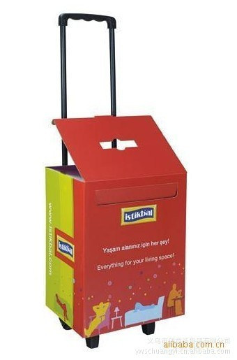 Fashion Exhibition Cardboard Display Trolley Box for Advertising pictures & photos
