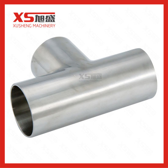 Stainless Steel Ss304 Hygienic Sanitary Equal Tee