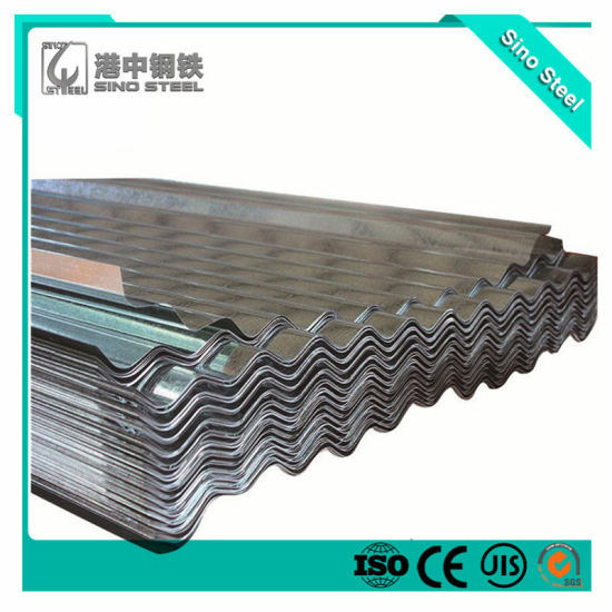 Hot Dipped Zinc Coated/Galvanized (gi) Steel Roofing Sheet with Low Price