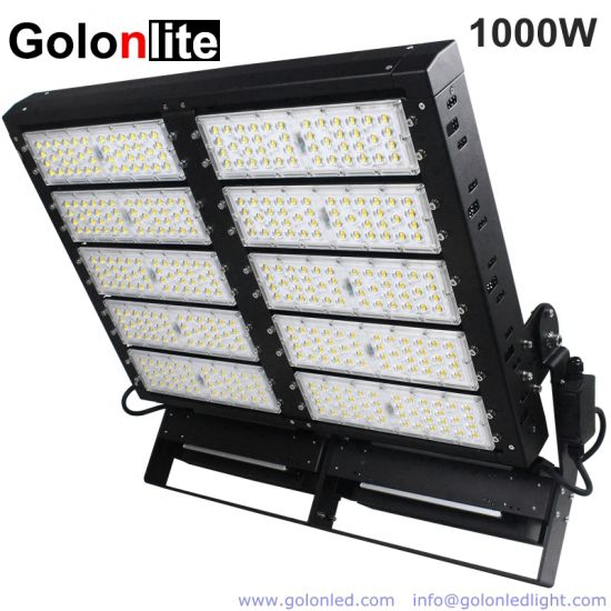 Power Supply 1000W High Mast Stadium Flood Light LED Sport Field Lighting