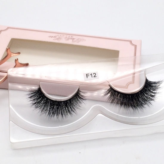 a4a91cfc1bc China Private Logo Custom Square Lash Packaging Box for Mink Lashes ...