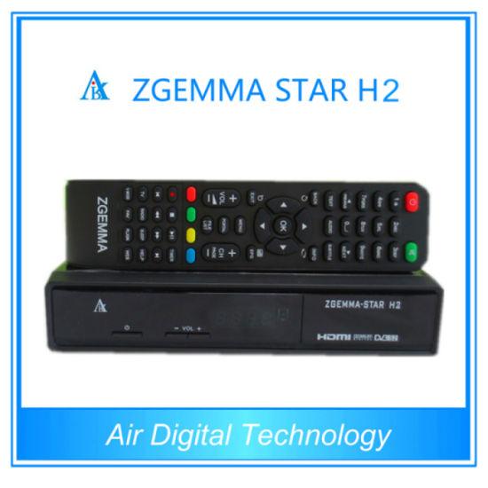 China Combo Zgemma-Star H2 DVB-S2 DVB-T2 Satellite Receiver Set Top
