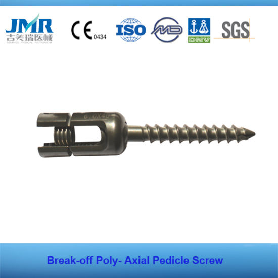 Spinal Internal Fixation Break-off Pedicle Screw