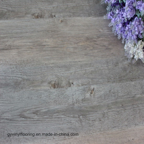 China Light Oak Plank Wood Self Stick Adhesive Non Slip Pvc Vinyl