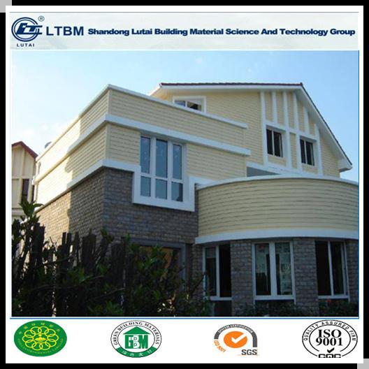 China 9mm Fireproof Wood Grain Siding Fiber Cement Board