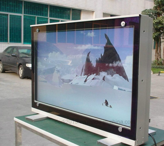 China High Brightness Floor Stand Lcd Advertising Outdoor