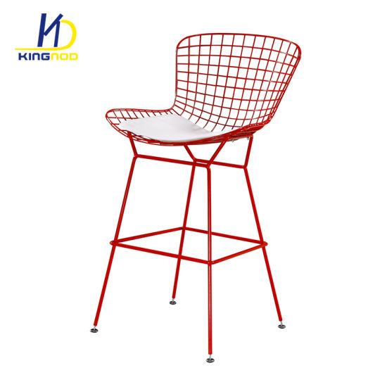 Astonishing China Replica Harry Bertoia Style Seat Pad Metal Wire Theyellowbook Wood Chair Design Ideas Theyellowbookinfo