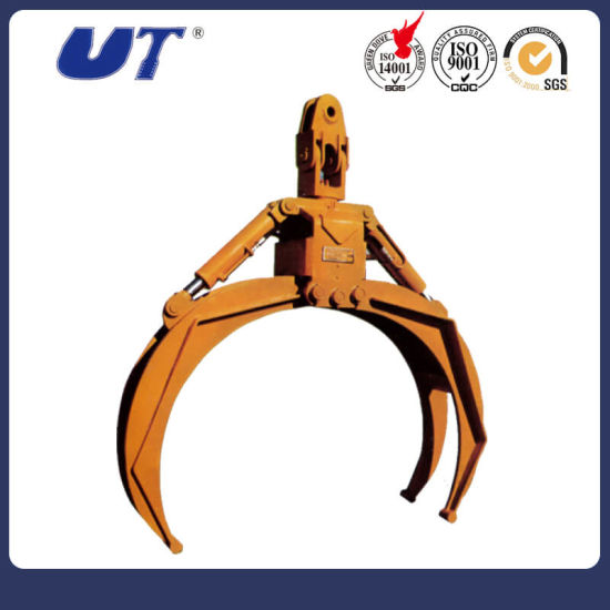 Excavator Spare Parts Hydraulic Grapple pictures & photos