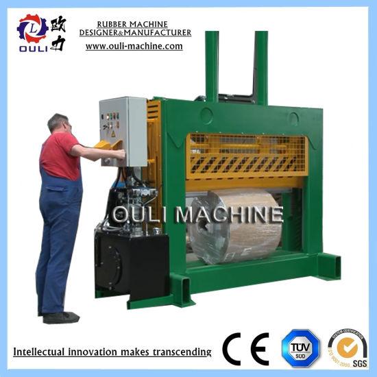 High Precision Paper Slitting Machine, Saw Blade Paper Rolls Cutting Machine