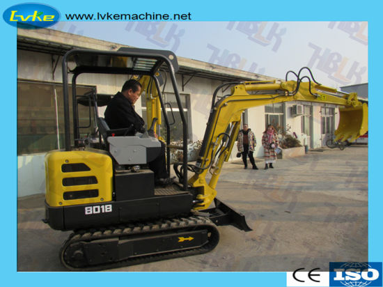 1.8 Ton China New Design Digger Mini Excavator/Small Excavator pictures & photos