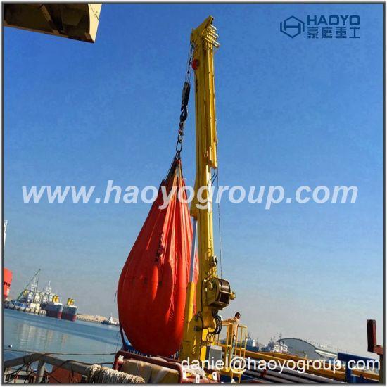 China 1 Ton/3 Ton/7 Ton Telescopic Boom Hydraulic Marine