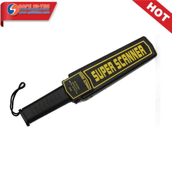 Airport Portable Super Scanner Handheld Metal Detector AT2008 pictures & photos