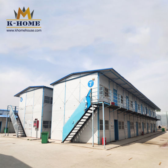 Temporary Prefabricated Steel Structure House