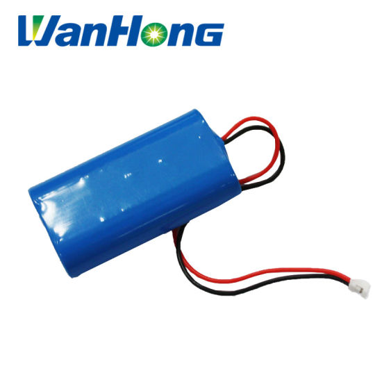 Lithium Ion Battery 3.7V 1800mAh 2p 18650 Battery Li-ion Lithium Battery Pack Used for Medical Instruments/LED/Portable Fan