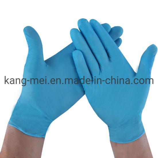 Powder Free Latex Free Nitrile Disposable Examination Glove