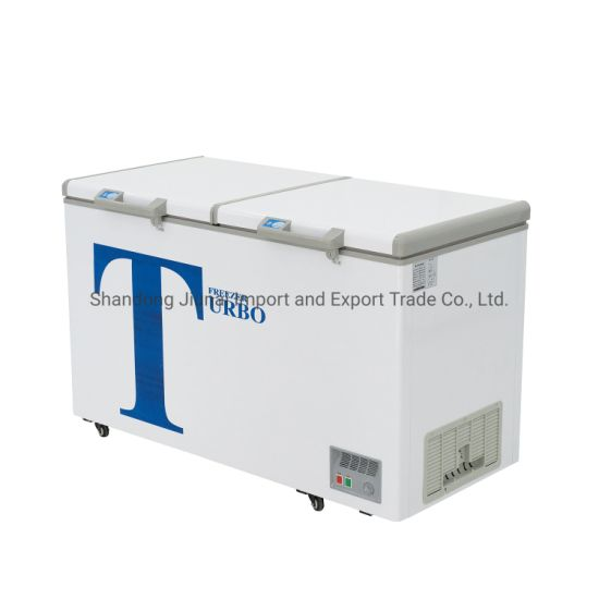 400L Commercial Double Temperature Price Deep Refrigerator and Freezer