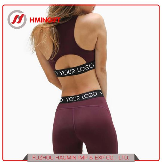 49e1f7607d Fitness Apparel Clothing OEM Active Wear Yoga Pants and High Impact Sports  Bra Wholesale Women Yoga