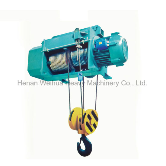 Best Price 1t 2t 3t 5t 10t 16t Wire Rope Sling CD1 Electric Hoist with Electric Trolley
