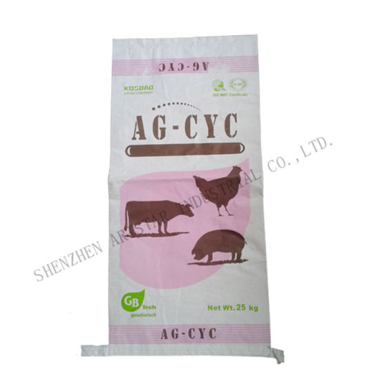 20kg, 25kg White Paper Bag with Suture Bottom