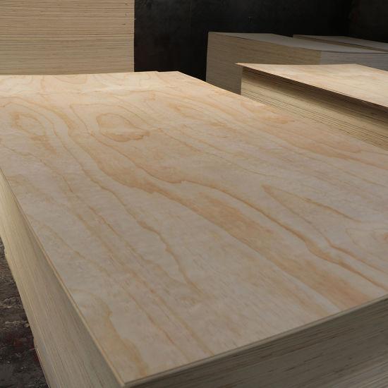 15mm Cc Grade Construction Radiate Pine Laminated Plywood.
