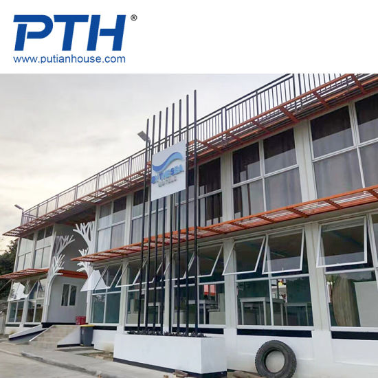 China 20ft 40ft Low Price Two Floor Modular Container House