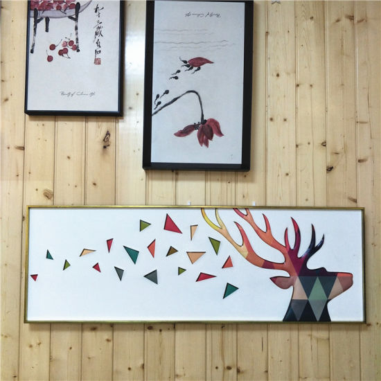 3D PVC Art Modern Wall Art Canvas Painting Chinese Paintingn with ...