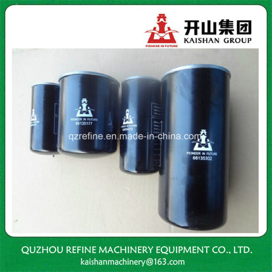 Oil Filter 66135302 for Kaishan 75kw Screw Air Compressor Maintenance pictures & photos