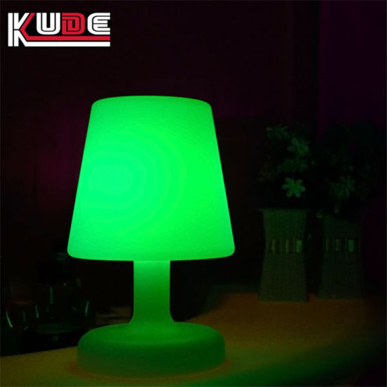 Led Touch Bedside Table Lamps Indoor Battery Operated Lamp