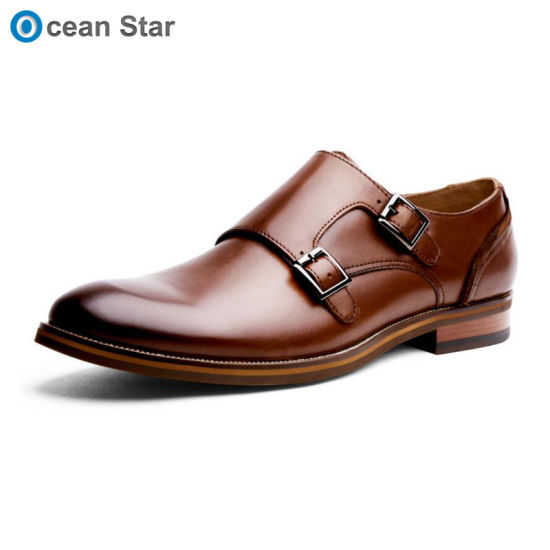 Men Wholesale Black Men Shoes Genuine Leather in Good Selling