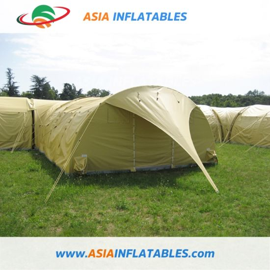 Airtight Inflatable Camping Tent for Rental, PVC Inflatable Air Tent for Camping, Inflatable Military Tent in Sale pictures & photos